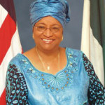 President of Liberia Ellen Johnson Sirleaf, president of Africa