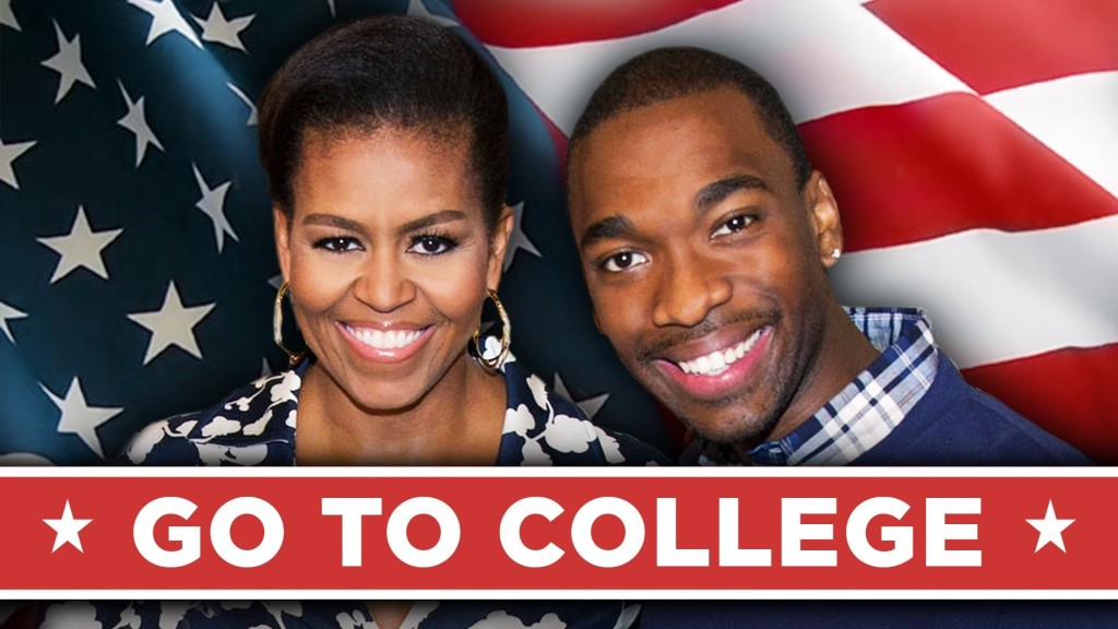 First Lady Michelle Obama and Jay Pharoah