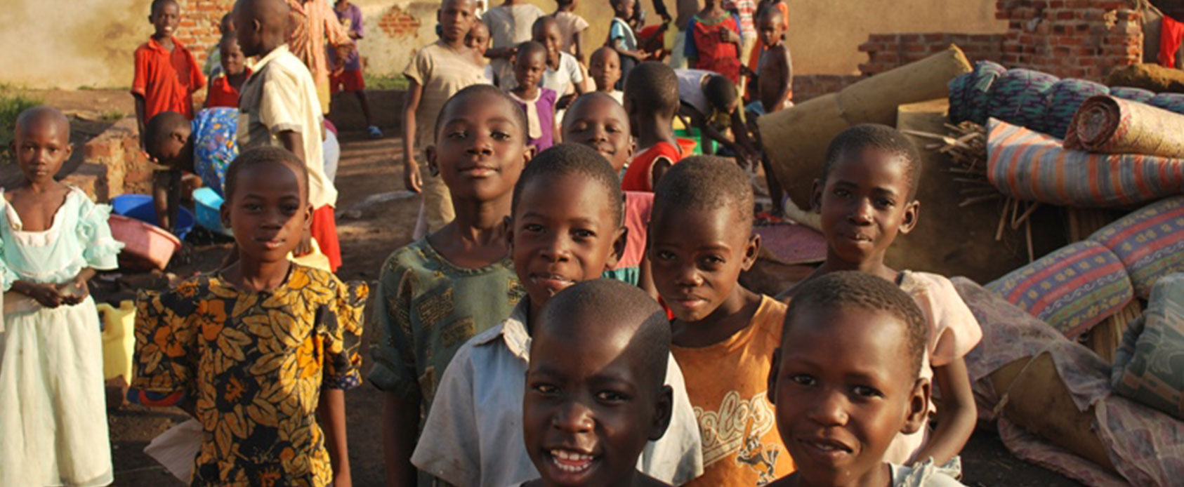 children living in an orphanage uganda