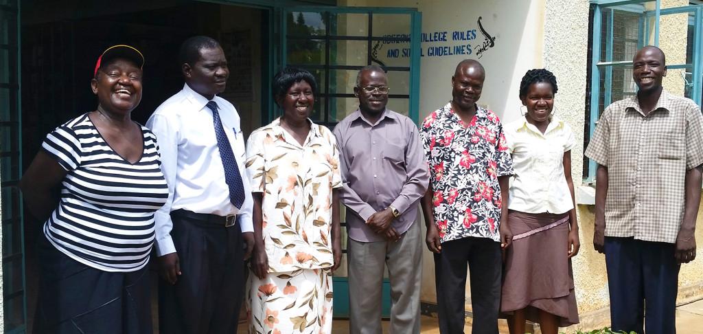 Professional educators from Uganda