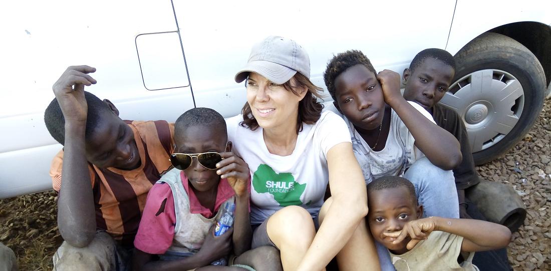street kids living in Kisenyi Slum, jackie Wolfson co-founder of Shule Foundation