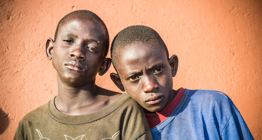 Twins in Uganda, Street kids of Kisenyi